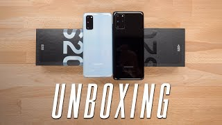 Samsung Galaxy S20 and S20 Plus Unboxing