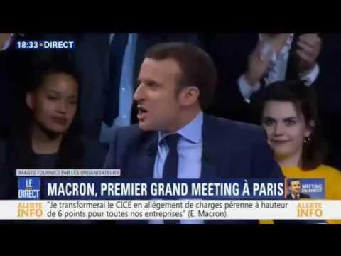 Emmanuel Macron crie (Remix)