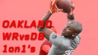 Oakland WR vs DB 1 on 1