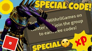 GIANT SIMULATOR SPECIAL CODE!🤫 Roblox