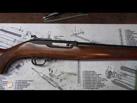 The Ruger 10-22 ~ Disassembly, care and maintenance made simple and easy!