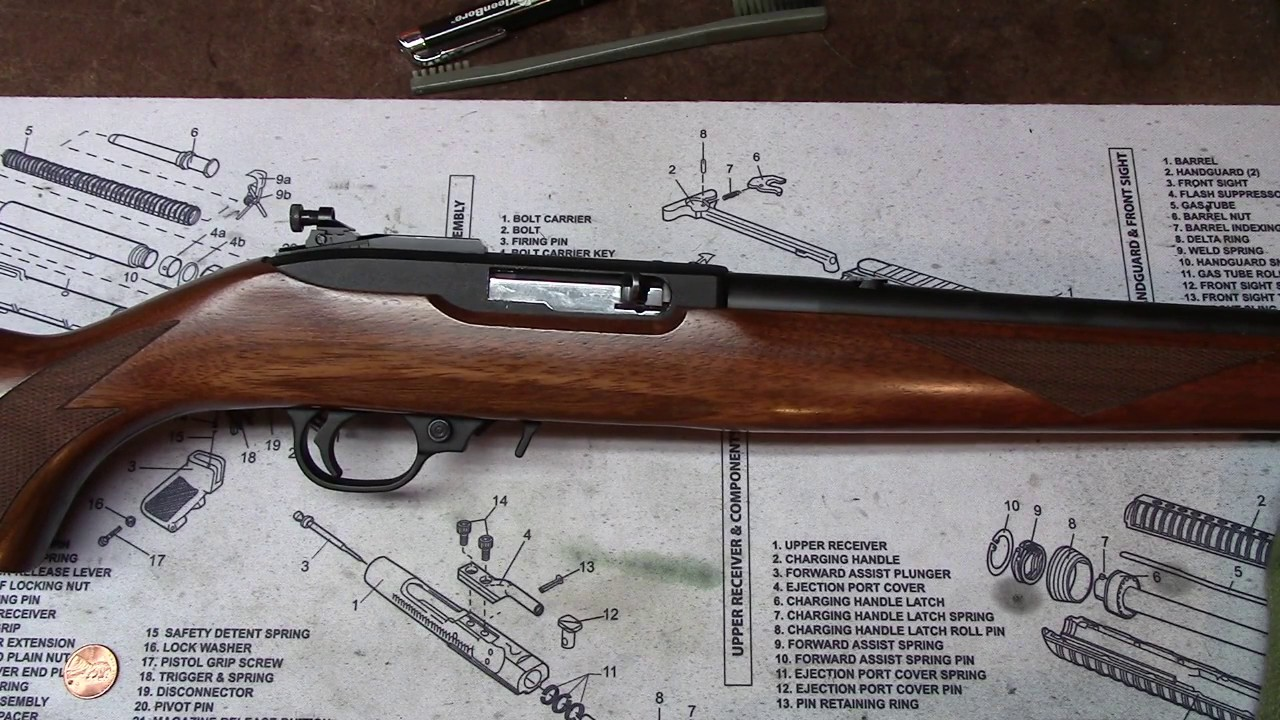 The Ruger 10 22 Disembly Care And Maintenance Made Simple
