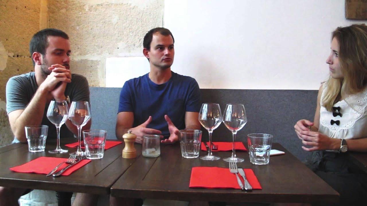 interview restaurant les pinces paris youtube. Black Bedroom Furniture Sets. Home Design Ideas