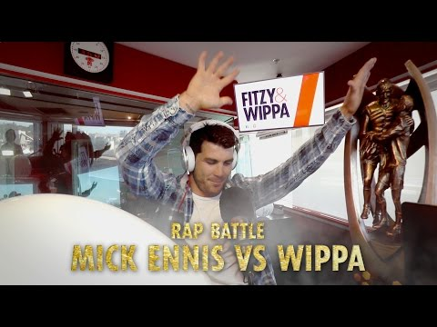 Mick Ennis raps against Wippa to Notorious B.I.G's Hypnotize!