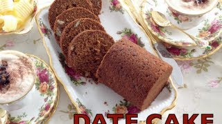 Date Loaf Video Recipe Cheekyricho