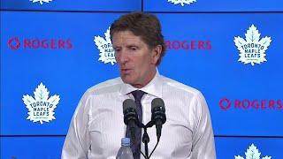"""Babcock on Maple Leafs win tonight: """"It's kinda fun eh?"""""""