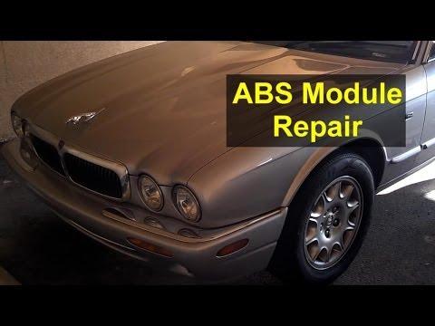 ABS module repair, ABS Warning, Tracks Not Available, Jaguar – Auto Repair Series