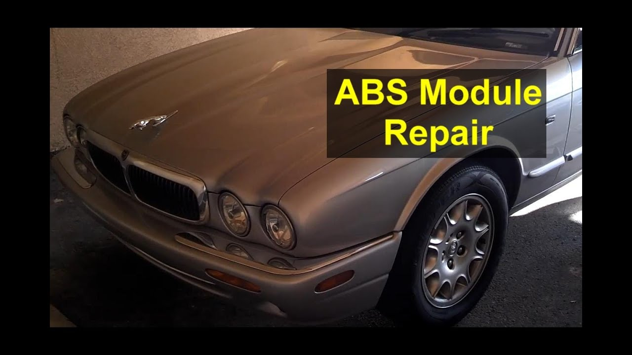 abs module repair, abs warning, tracks not available, jaguar - votd