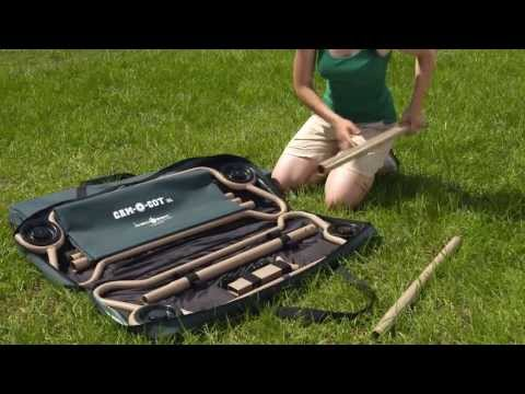 Cam-O-Bunk from Disc-O-Bed, Portable Bunk Cots, Extreme Sleep Solutions Promotional Video