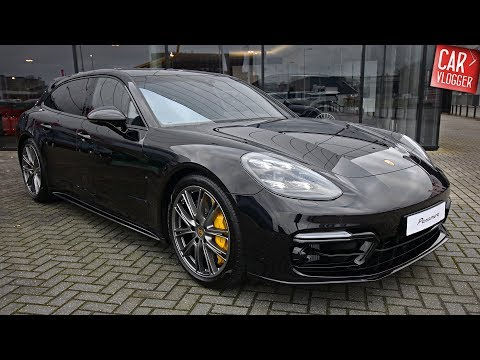 INSIDE the NEW Porsche Panamera Turbo Sport Turismo 2018 | Interior Exterior DETAILS w/ REVS