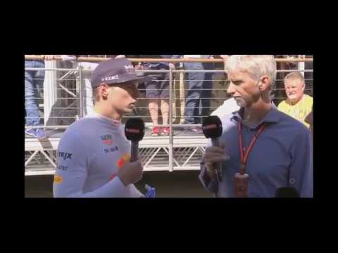 Interview Max Verstappen Post Qualy Hungary F1 21017