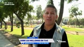Hombre debe más de 122 millones de pesos de TAG - La Mañana