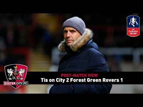 POST-MATCH VIEW: Tis on City 2 Forest Green Rovers 1 | Exeter City Football Club