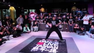 20140323 Dance @ Live TW Freestyle Judge Solo -- Takashi (All Good Funk)