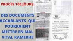 DES DOCUMENTS COMPROMETTANTS  SUR LE PROCES KAMERHE CIRCULENT SUR LES RESEAU SOCIAUX