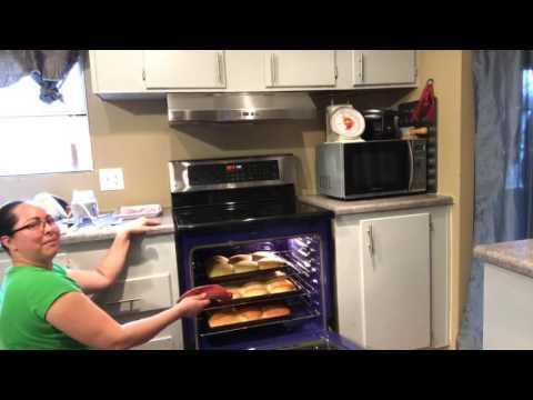 cocinando pan casero pan pueblerino
