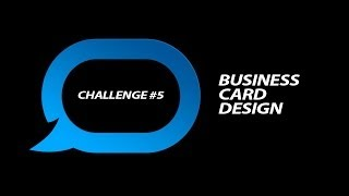 Design Challenge #5 - Business Card Design for Bassix