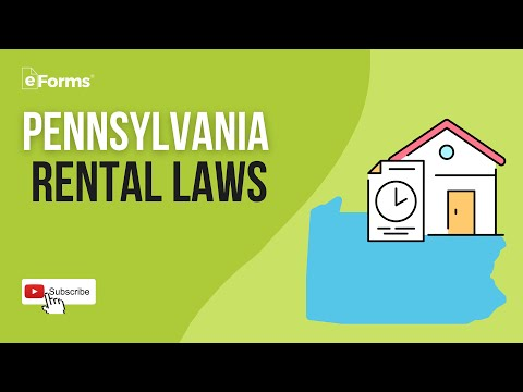 Pennsylvania Rental Laws - EXPLAINED