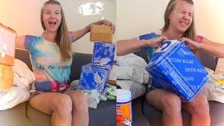 Розпакування 20 посилок / Unboxing haul / Ласощі!! (ч. 1)
