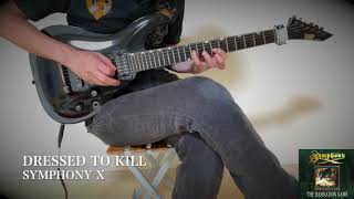 Symphony X - DRESSED TO KILL - Guitar Solo Cover Thank you for watc...