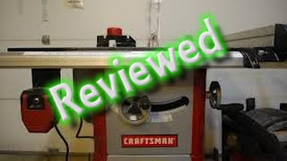 Craftsman Saw 21833 Review ....6 Months Later