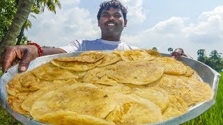 Puran Poli Making in Sweet Shop | Bobbatlu Recipe | How to Make Bobbatlu | Bhakshaalu Making