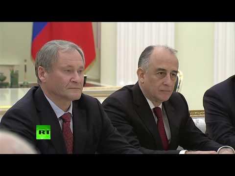 Путин провёл встречу с ушедшими в отставку губернаторами