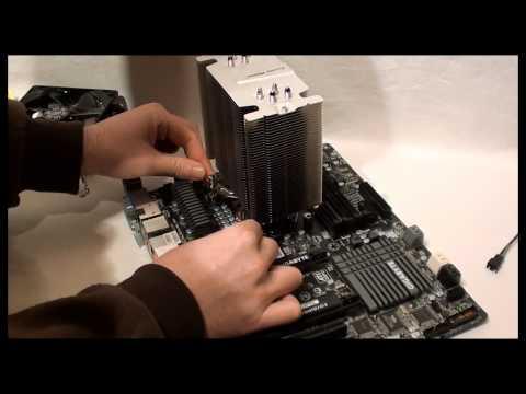 Cooler Master Hyper 412S CPU Cooler Intel LGA1155/LGA 1156 Installation