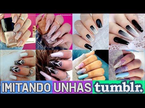 #15 Imitando Unhas Tumblr 02 - Nill Art