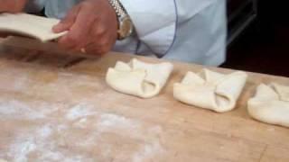 Folding An Almond Danish