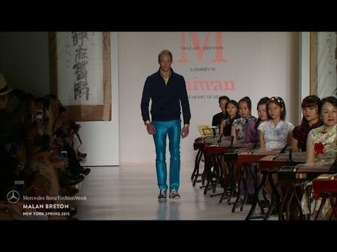 MALAN BRETON: MERCEDES-BENZ FASHION WEEK S/S15 COLLECTIONS