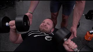 Extreme Drop-Set Chest Workout - 27 Weeks Out From Master's USA