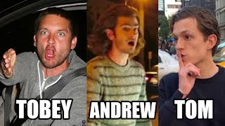 Spider-Man Actors Getting Angry At Paparazzi | Tobey Maguire, Andrew Garfield & Tom Holland Angry |