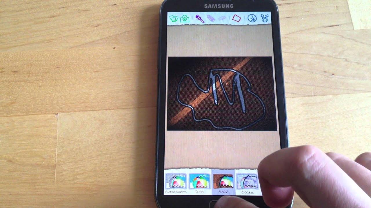 Samsung galaxy note 2 les fonctions de la surcouche