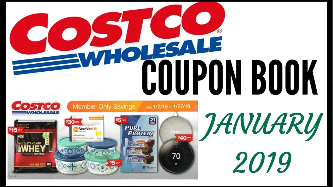 costco flyer january 2019