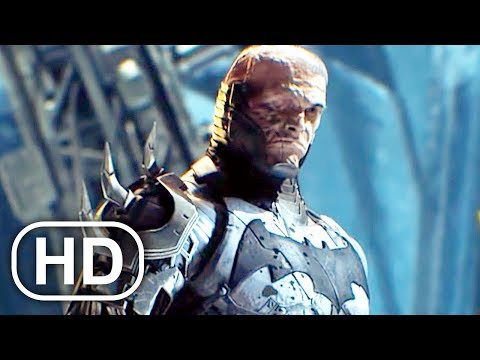 Future Batman JUSTICE LEAGUE Fight Scene Cinematic - DC Universe Online