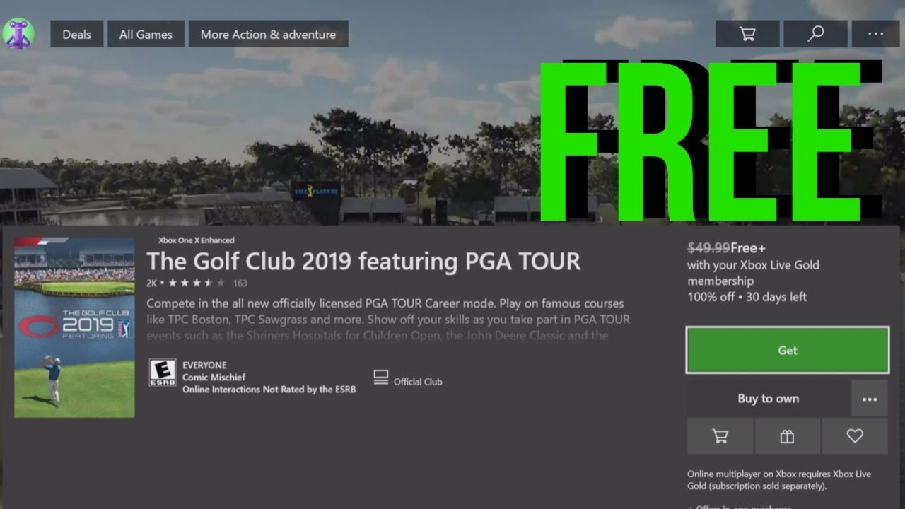 How to Download: The Golf Club 2019 featuring PGA TOUR for FREE in Xbox One  | Xbox One S
