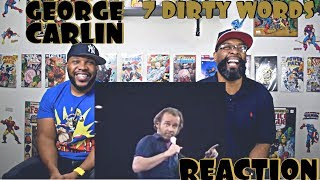 George Carlin's 7 Dirty Words Reaction