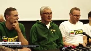Palangoje susirinko pirmieji Lietuvos vyrų krepšinio rinktinės kandidatai