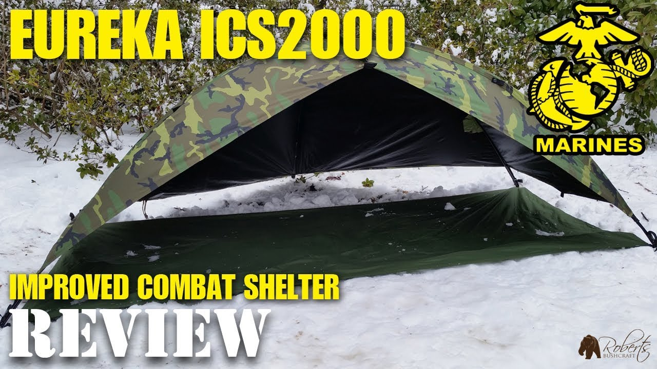 Eureka ICS 2000 One Man Combat Tent (Improved Combat Shelter) - YouTube & Eureka ICS 2000 One Man Combat Tent (Improved Combat Shelter ...