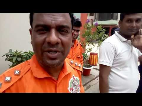 FIRE SAFETY TRAINING FOR GMS 08, (HEAD OF FIRE SAFETY, MD.SAIFUL ISLAM)