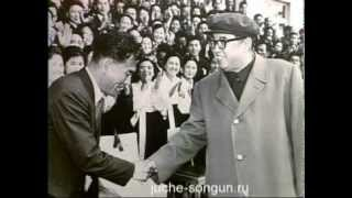 Kim Jong Il and film stars. 2/2 (in english).