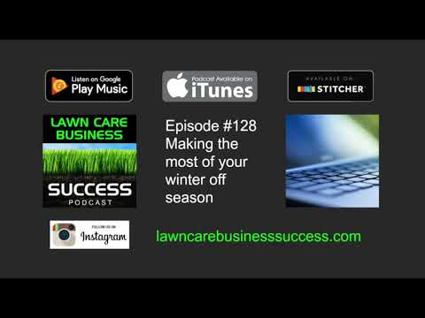 Episode #128 Making the most of your winter off season (podcast audio)