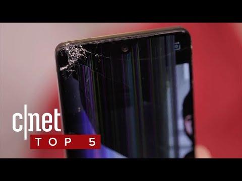 The most breakable phones (CNET Top 5)