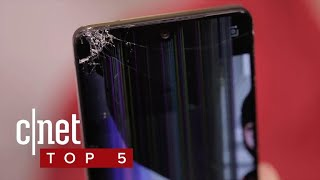 The most breakable phones (CNET Top 5)