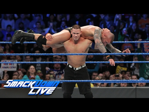 Thumbnail: John Cena vs. Randy Orton: SmackDown LIVE, Feb. 7, 2017