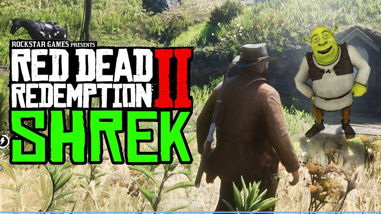 Red Dead Redemption 2 Shrek Easter Egg Red Dead Redemption 2 Shrek S House Youtube