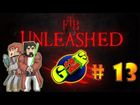 Golden Bag of Holding | Minecraft (Feed The Beast Unleashed # 13)
