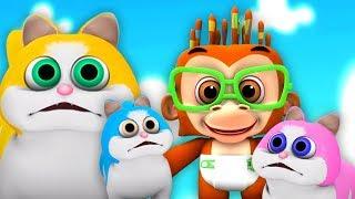три маленьких котенка | 3 Little Kitten | Little Treehouse Russia | русский мультфильмы для детей