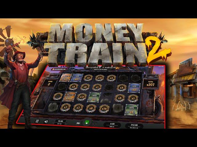 MONEY TRAIN 2 (RELAX GAMING) ONLINE SLOT